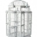 chic-and-shabby-white-decorative-turrett-shaped-birdcage-white-washed-finish