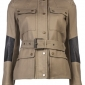 BELSTAFF Peterlee Belted Jacket - Lyst