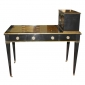Ebonized Cartonnier Desk Stamped Jansen Greenwich Living