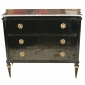 Jansen Stamped Marble Top Commode Greenwich Living