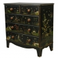 Painted Chest with Oriental Motifs Seller Firestide Antiques