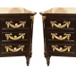 Pair of French Ebonized Chests of Drawers Greenwich Living