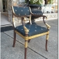 Fantastic Italian Belloni Fauteuil Early 20th c.  Seller Peppers Antiques.123