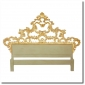 Italian Giltwood Carved Headboard C. 1930's Melissa Levinson Antiques 2