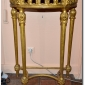 Italian gilded wood Italian console 19th c SOld through Leda-Decors