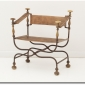 Late 19th Century Italian Curule Chair Sold Through Quotient