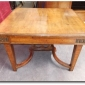 NICE ITALIAN WALNUT ART NOUVEAU STYLE DINING ROOM TABLE Seller  From Europe To You