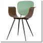 Pair of Italian Bent Wood Chairs by Real Dorica Sold Through Decoratum