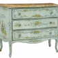 RARE 19TH CENTURY VENETIAN PAINTED CHEST OF DRAWERS Seller  Debenham Antiques On Ebay