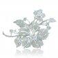 bridal-silver-tone-4-3-inch-orchid-flower-austrian-crystal-brooch