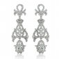 bridal-silver-tone-fleur-de-lis-dangle-earrings-with-clear-swarovski-elements-crystal