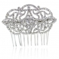 wedding-silver-tone-flower-ribbon-clear-austrian-crystal-hair-comb-pin