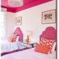 tall-ceiling-using-color-with-the-hot-pink-ceiling-color-extended-down-the-wall-a-foot-houzz