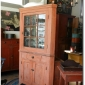 beautiful-salmon-painted-corner-cupboard-seen-at-my-country-treasures-blog