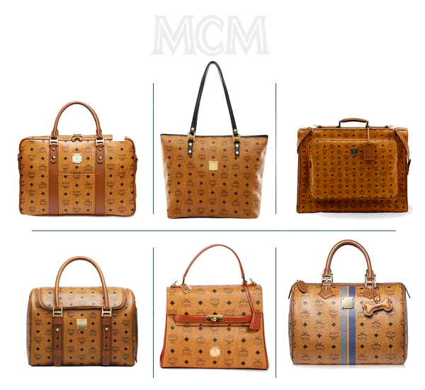 The beautiful leather monogrammed mcm handbags most people for What does mcm the designer stand for
