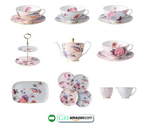 Wedgwood-Harlequin-Cuckoo-Tea-Set