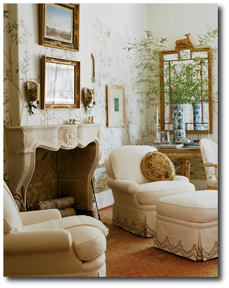 Master Bedroom From The Dallas Showhouse Featured in Southern Accents Cathy Kincaid