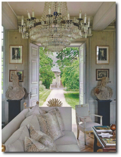 Charles Spada's country home in Normandy