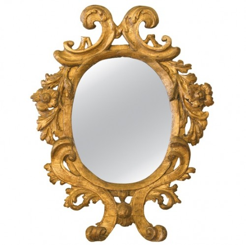 Italian Baroque Gilt Mirror