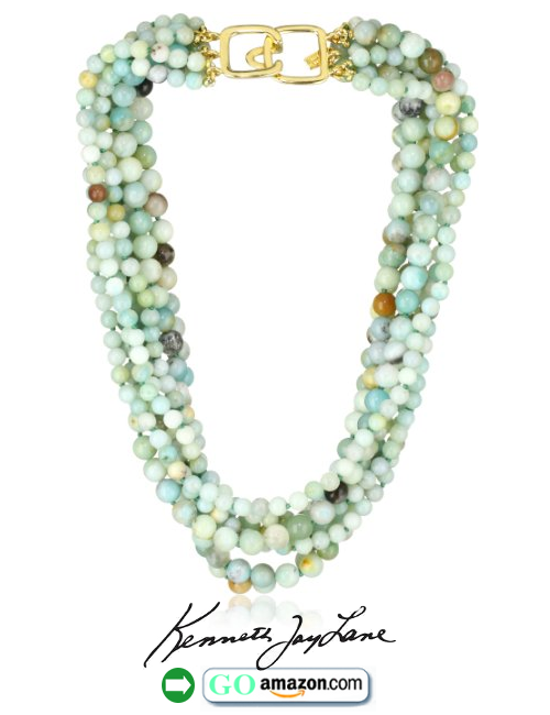 8 Row Jade Bead Necklace