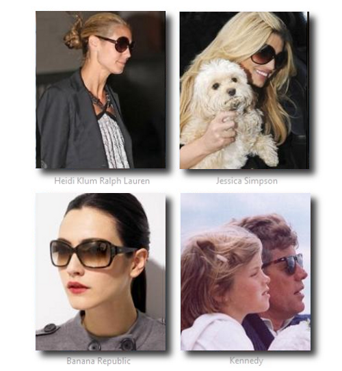 Celebrities Horned Glasses