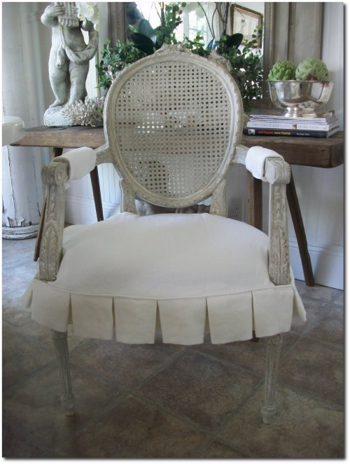 French Chair Slipcovers
