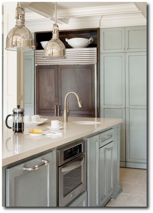 Kitchens Painted With Gray Tones- Painting Furniture In Gray, Inspiration - Designer Tobi Fairley