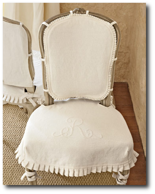 Linen Slipcovers From Country Living Magazine