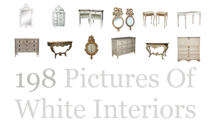 198 Pictures Of White Interiors