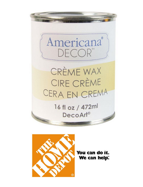 Cream Wax At The Home Depot