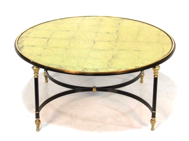 Directoire Style Metal U0026 Brass Cocktail Table, Keywords:Directoire Style  Furniture, Jansen Style