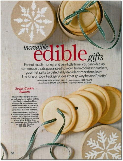 Edibile Gift Ideas From Country Living Magazine December January 2013 Issue, Homemade Gifts, Gift Ideas, Ideas From Country Living Magazine, Gift Giving Ideas,