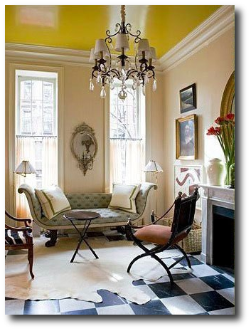 Jeffrey Bilhuber, Ceiling Paint Colors, Paint Color Advice, Best Ceiling Paint Colors, Expert Design Advice, Pro Painting Advice