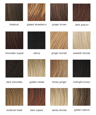 Jessica Simpson Color Chart