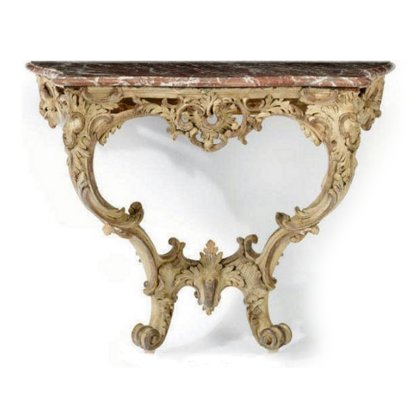 Louis-XV-Grey-Painted-Marble-Top-Console-Table-From-Christies