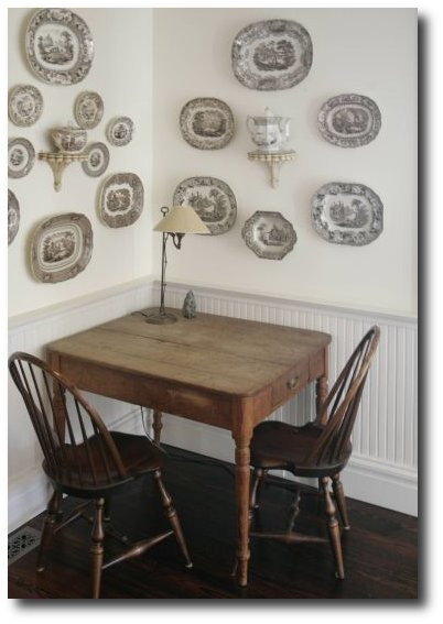 Phoebe Howard, Decorating With China, Decorating With Plates, Plate Displays, Sconces