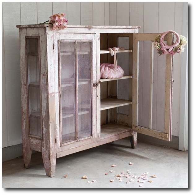 Shabby Chic Style Furniture. Rachel Ashwell Shabby Chic Couture Lavender  Pie Safe White Decorating Style