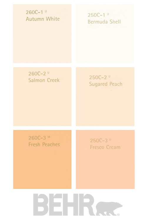 Color Paint Chart Behr