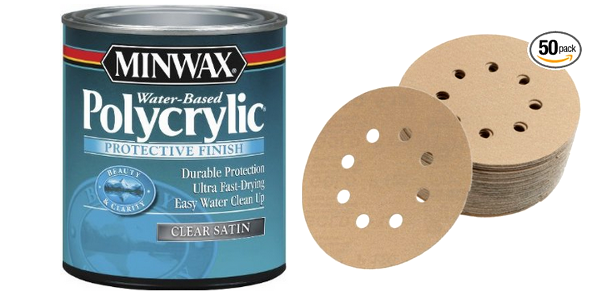Clear Paint and Sanding Products