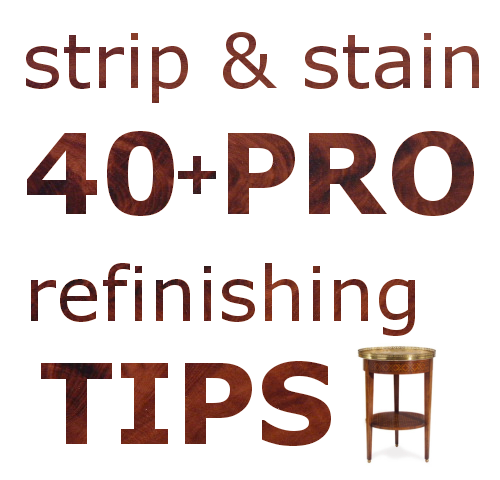Refinishing Tips