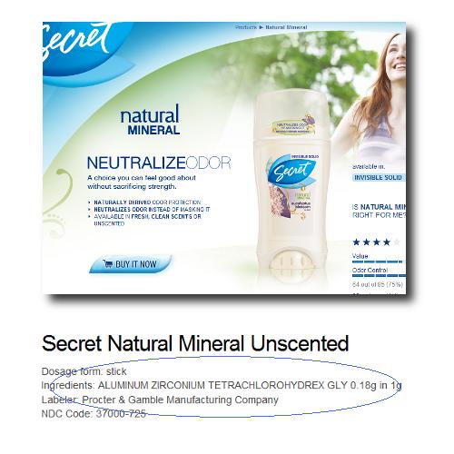 Mineral Deodorant