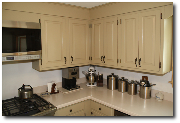 Cabinet Transformation. Rust Oleum Cabinet Transformations Review U2013 Before  And After ...