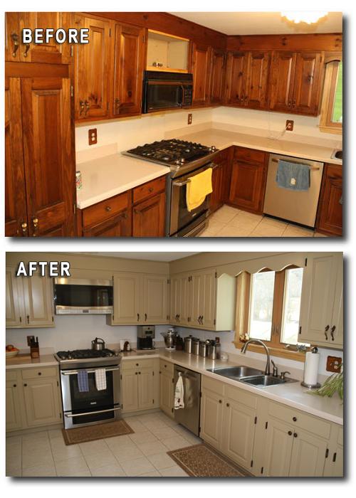 Refinishing Laminate Cabinets