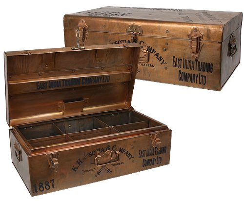 Hammersmith East India Co. 22 Iron Trunk