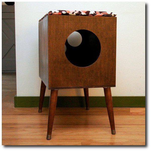 Mid Century Modern Cat Furniture U0026 Litter Box Cover   Small By Modernistcat  On Etsy