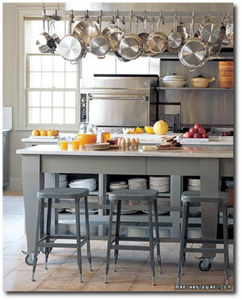 Martha Stewart's Organized Kitchen