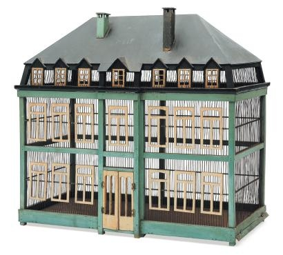Antique Bird Cage- Seen at PBA Auctions