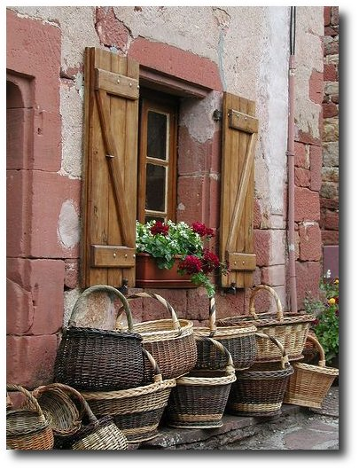 Baskets in Collonges La Rouge by Mark And Melissa on Flickr