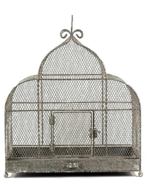 "Decorative Bird Cages Large 17"" x 17"" Metal Cage $55 Save On Crafts"