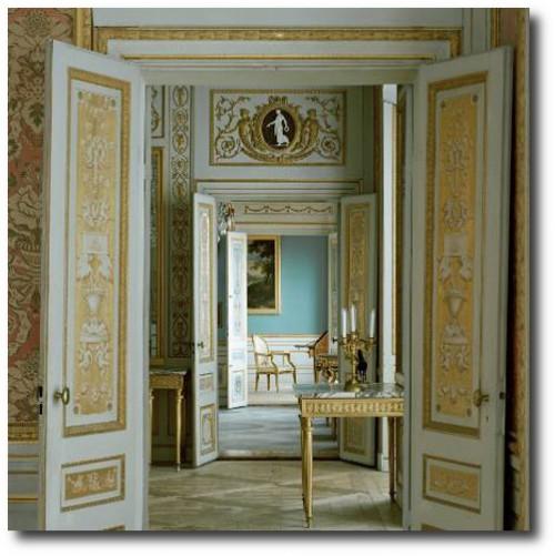 Entrance-to-Salon-at-Tullgarn-Palace-Sweden-500x501